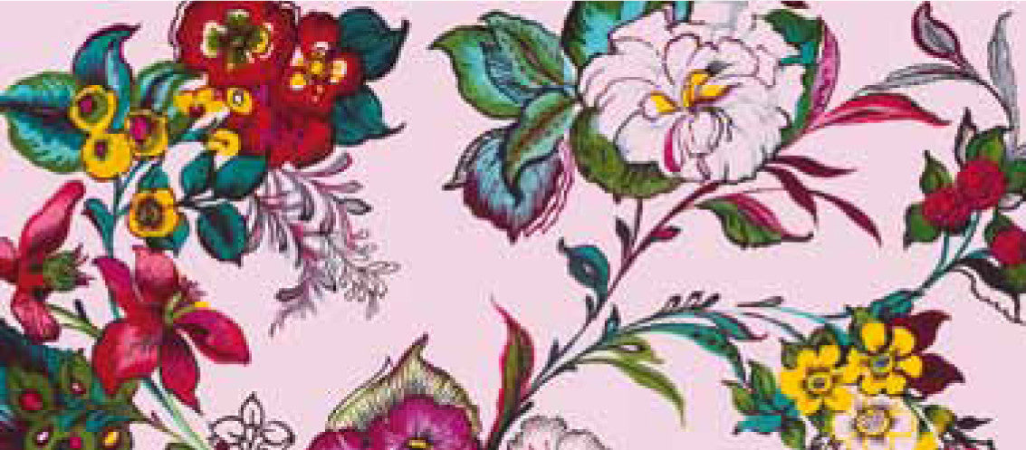 Pareo Pink Colossal Floral