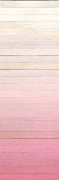 Degrado Pink Ombre Painted Wood