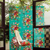 Ayaanle Green Dutch Painters Floral Wallpaper