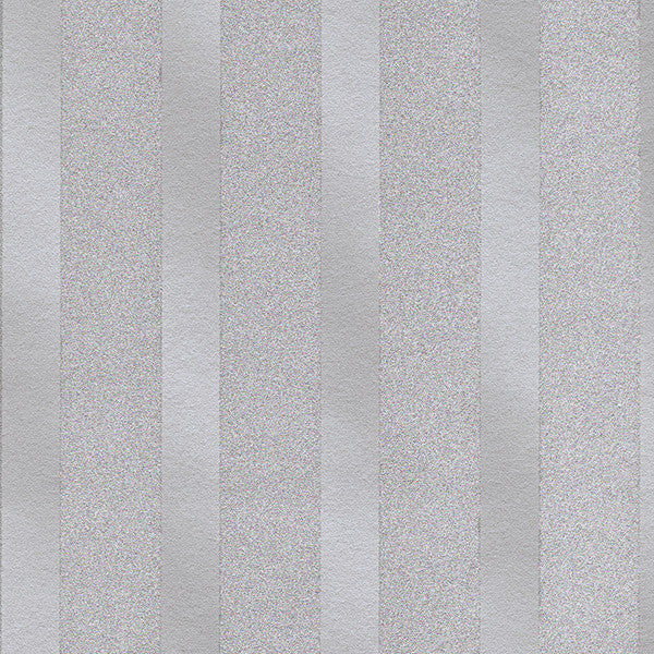 Doris Purple Beaded Stripe Wallpaper