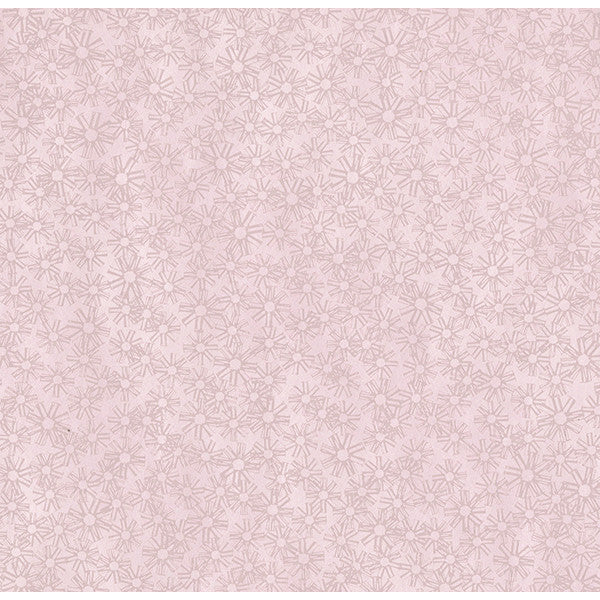 Janie Pink Metallic Floral Wallpaper