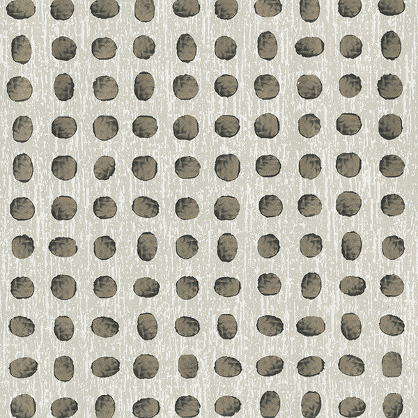 Dee Grey Metallic Dot Wallpaper