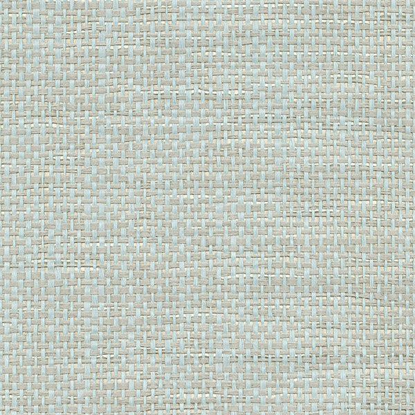 Aimee Mint Grasscloth Wallpaper