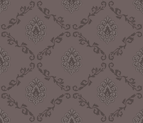 Acharnes Brown Damasks