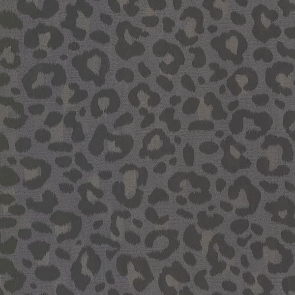 Parallax Charcoal Leopard Wallpaper