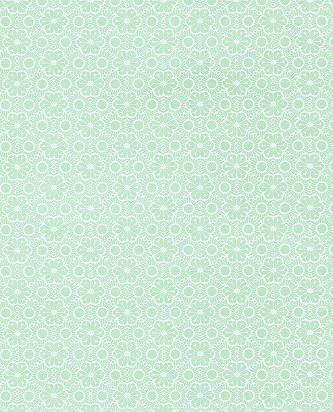 Arielle Mint Marrakesh Wallpaper