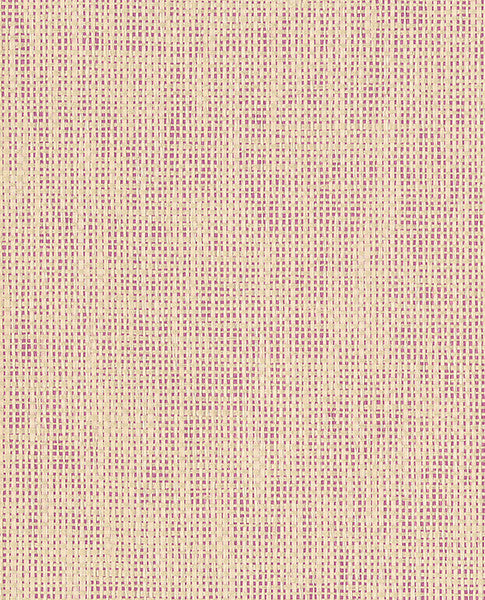 Anya Peach Paper Weave Wallpaper