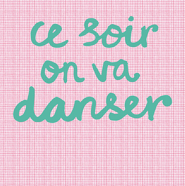 Pink Tonight We Will Dance Wall Mural