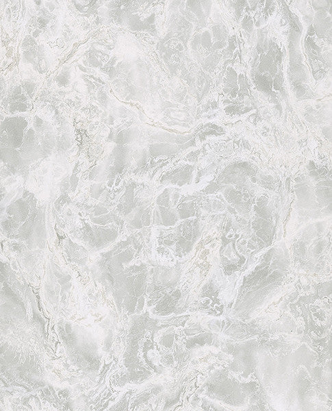 Botticino Silver Marble Wallpaper