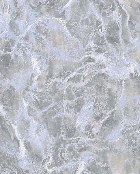 Botticino Charcoal Marble Wallpaper