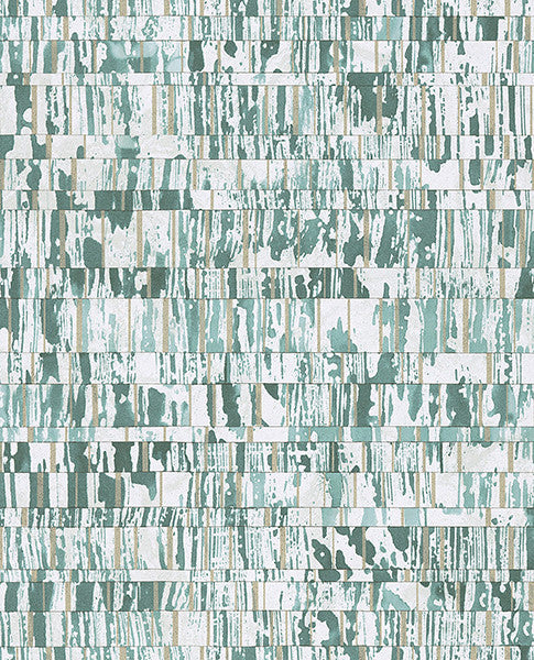 Demi Teal Abstract Wallpaper
