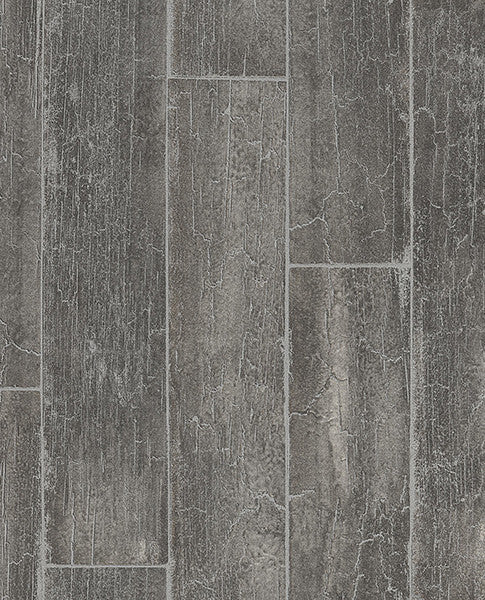 Esmee Charcoal Wood Wallpaper