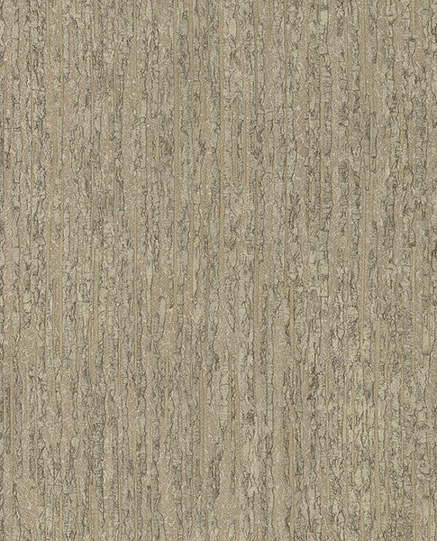 Malevich Light Brown Bark Wallpaper