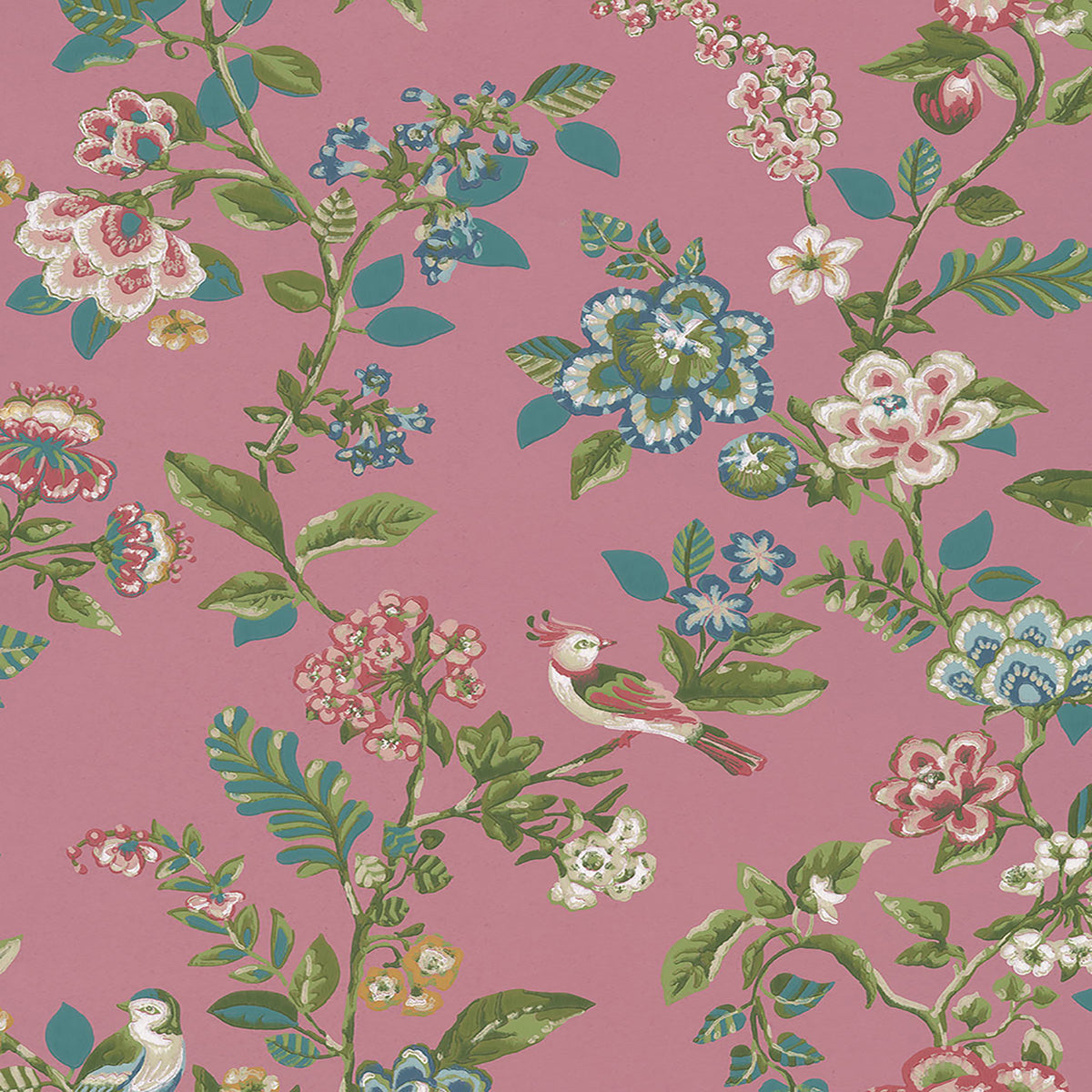 Willem Mauve Painted Garden Wallpaper