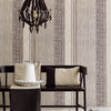 Setif Brown Stripe Wallpaper