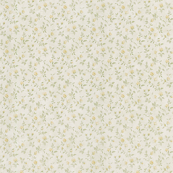 Abigail Yellow Rosebud Trail Wallpaper