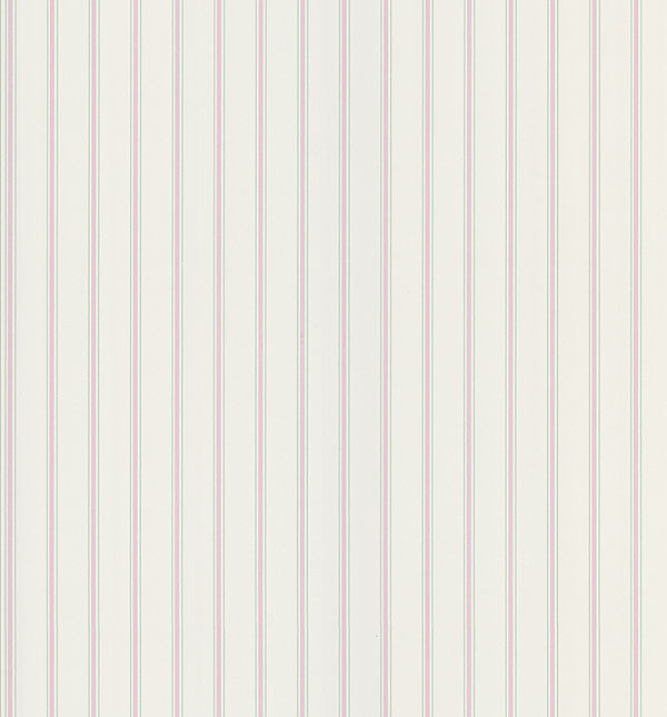 Harry Pink Pinstripe Wallpaper