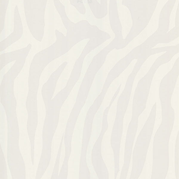 Congo Cream Zebra Wallpaper