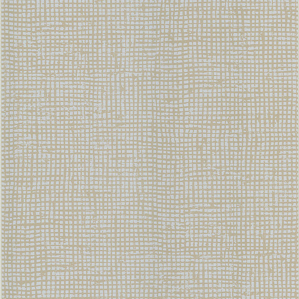 Cordel Taupe Weave Wallpaper