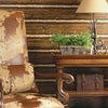 Franklin Brown Rustic Pine Wood