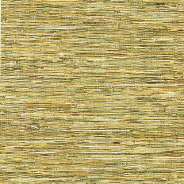 Lepeka Green Faux Grasscloth