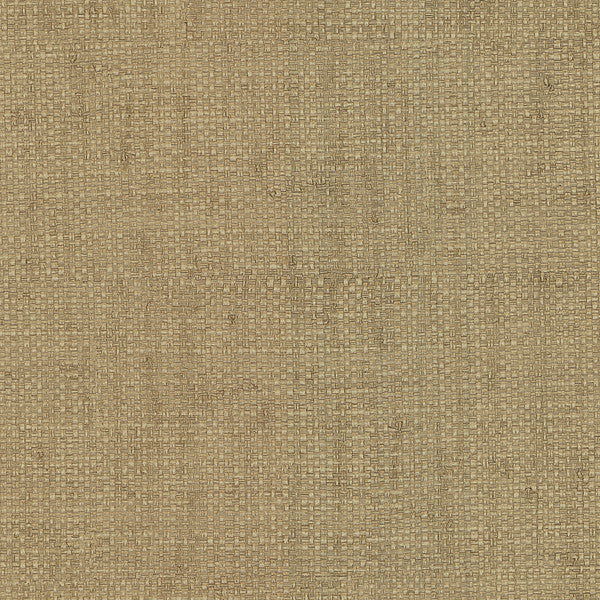 Hamptons Light Brown Faux Grasscloth Wallpaper