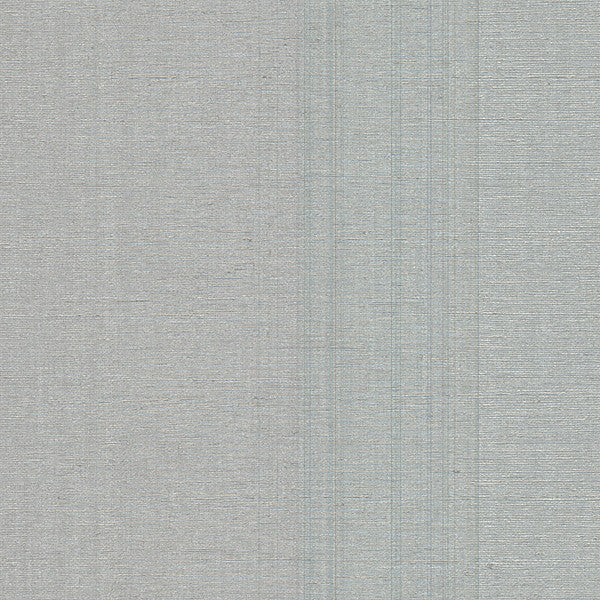 Wirth Silver Faux Grasscloth Wallpaper