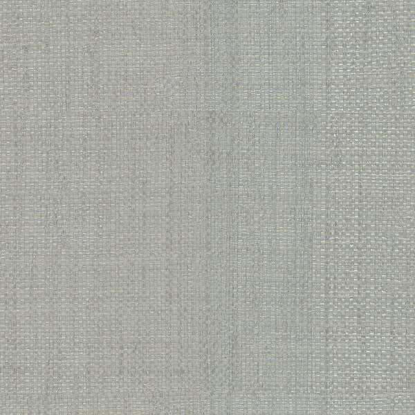 Hamptons Silver Faux Grasscloth Wallpaper