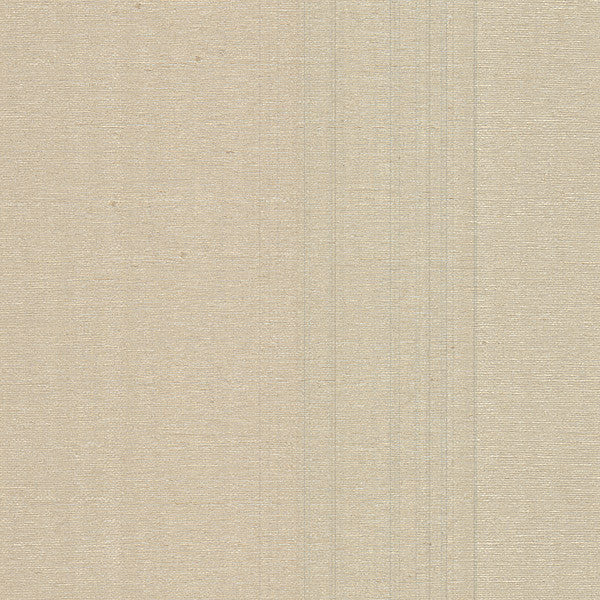 Wirth Taupe Faux Grasscloth Wallpaper