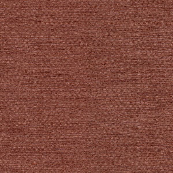 Wirth Red Faux Grasscloth Wallpaper