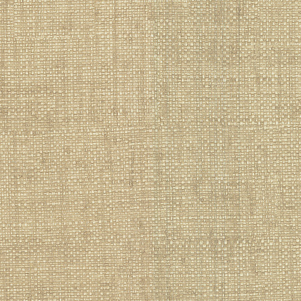 Hamptons Beige Faux Grasscloth Wallpaper