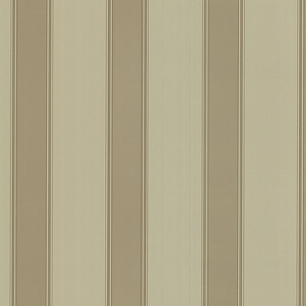 Claude Beige Stripe Wallpaper