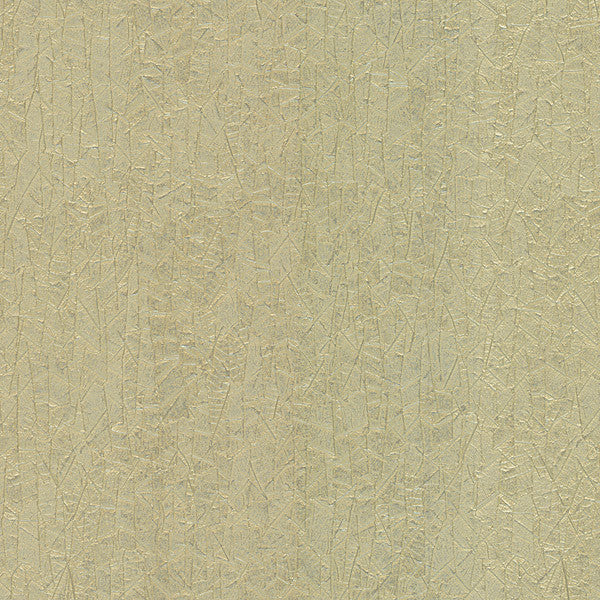 Foglia Gold Texture Wallpaper