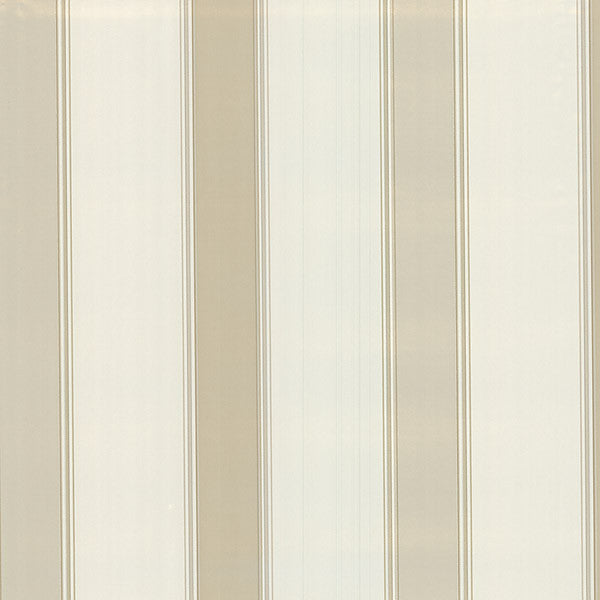 Claude Cream Stripe Wallpaper