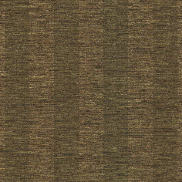 Bark Stripe Brown Textured Stripe Wallpaper