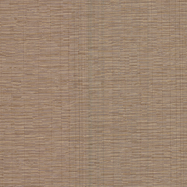 Pontoon Light Brown Faux Grasscloth Wallpaper