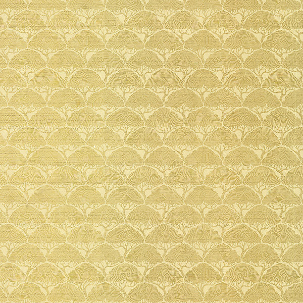 Arboretum Gold Geometric Trees Wallpaper