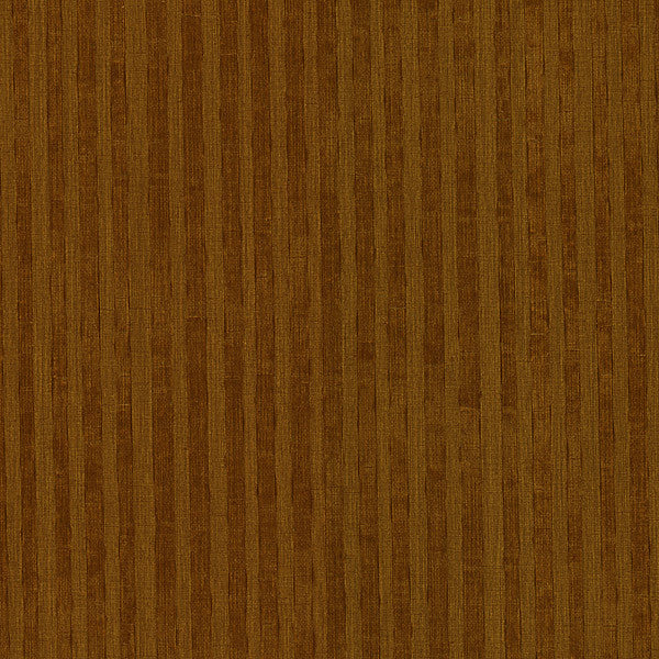 Ribbon Brown Fabric Stripe Wallpaper