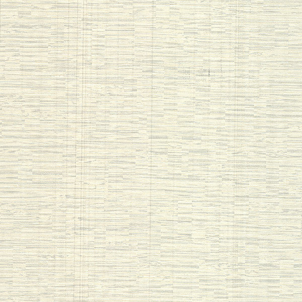 Pontoon Light Grey Faux Grasscloth Wallpaper