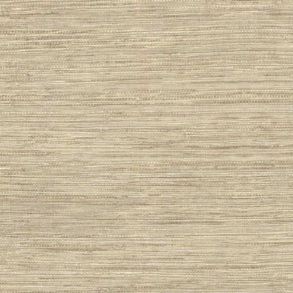 Tapis Beige Faux Grasscloth Wallpaper