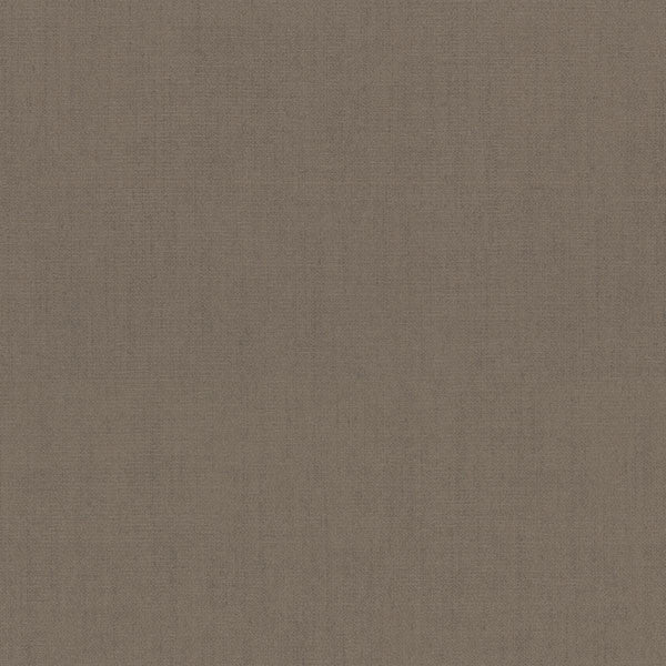 Poplin Brown Woven Texture Wallpaper
