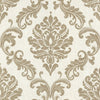 Sebastion Gold Damask Wallpaper