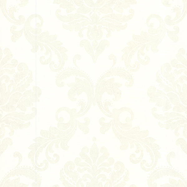 Sebastion Cream Damask Wallpaper