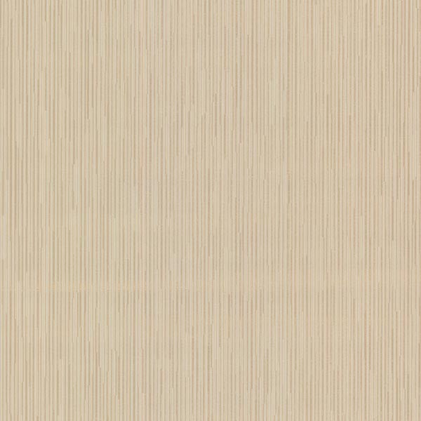 Aeneas Stripe Beige Textured Pinstripe Wallpaper