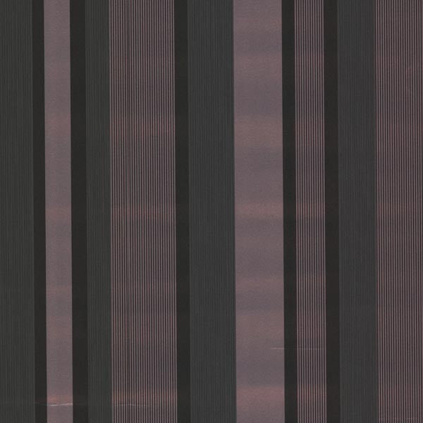 Amira Stripe Black Horizontal Multi Stripe Wallpaper