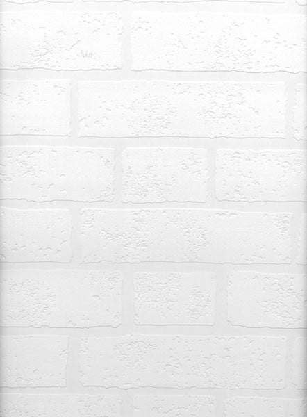 Belden Brick Texture Paintable Wallpaper