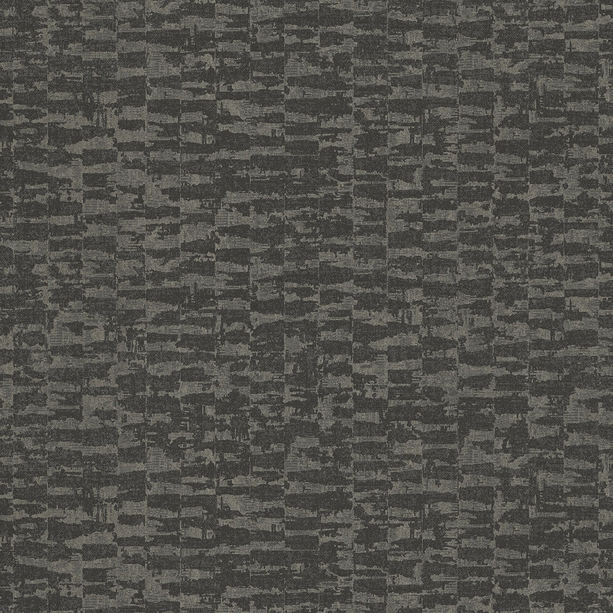 Black, Metallic Textural Geometric Abstract. 52101 97