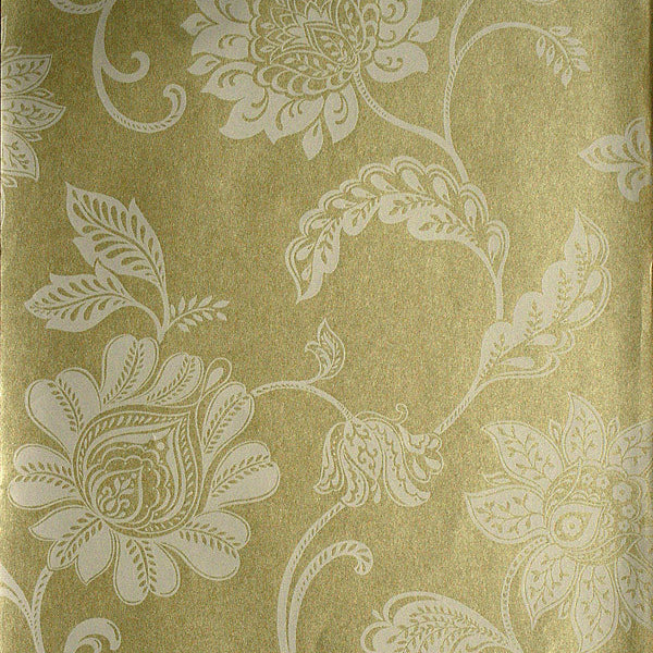 Lillith Pearl Jacobean Trail Wallpaper
