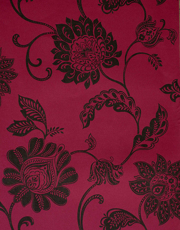 Lillith Pink Jacobean Trail Wallpaper