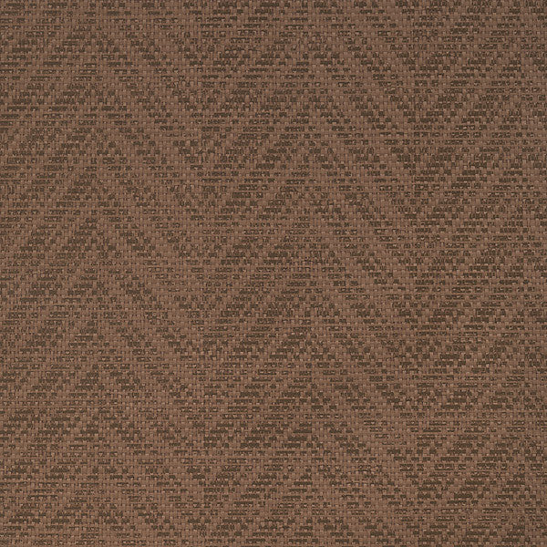 Martison Brown Paper Weave Texture Wallpaper